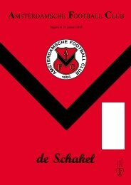 14 december 2011 90ste jaargang nummer 5 - AFC, Amsterdam