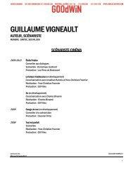 GUILLAUME VIGNEAULT - Agence Goodwin