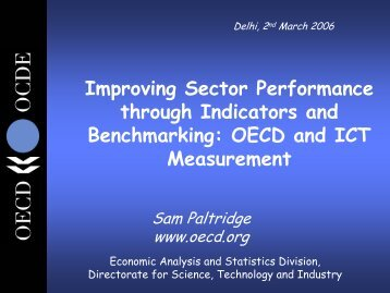 OECD and ICT Measurement - LIRNEasia