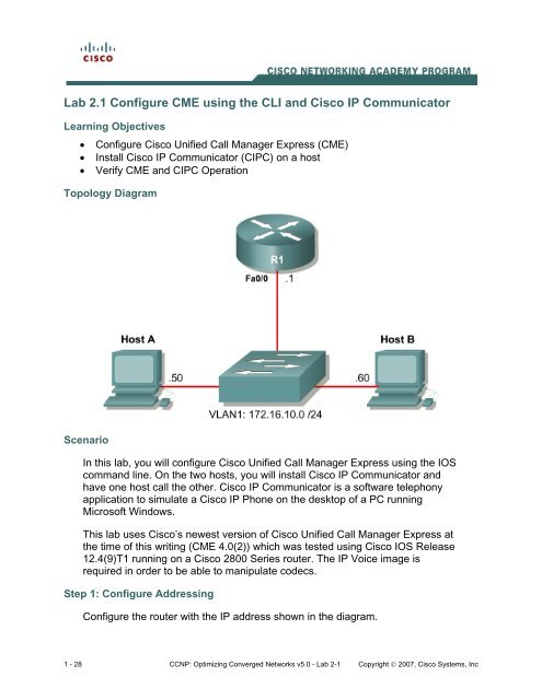 Cisco Ip Phone Configuration Step By Step