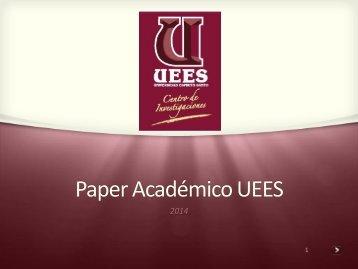 Paper-Academico-UEES-2014