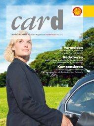 Die aktuelle Ausgabe der card - Mai 2011