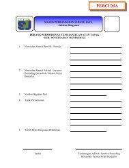 PERCUMA - mpsj - Majlis Perbandaran Subang Jaya