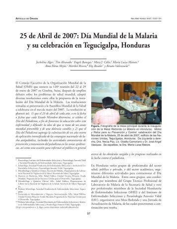 25 de Abril de 2007 - sistema de información y registro de ...