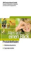 Produktleitfaden Klebebandsysteme und Spezialprodukte