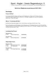 Info - SKV Regensburg