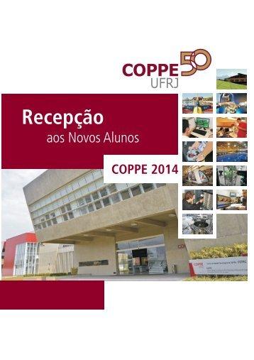 Informativo para Novos Alunos - Coppe - UFRJ