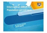 Smur BMP en population gériatrique.pptx - SMUR BMPM