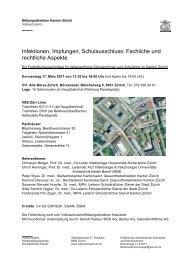 Infektionen, Impfungen, Schulausschluss - Volksschulamt - Kanton ...