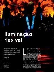 Iluminação flexível - Revista Pesquisa FAPESP