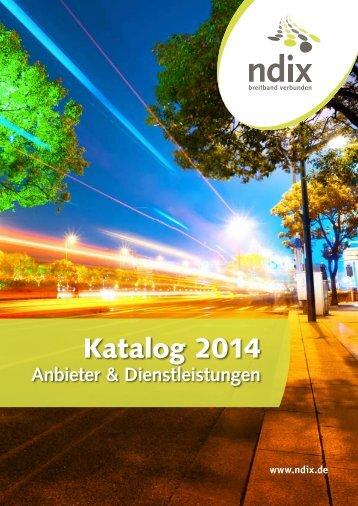 Katalog 2014 - NDIX - DE