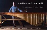 Nate Bartlett Marimba Recital @ 4:30 in Gordon