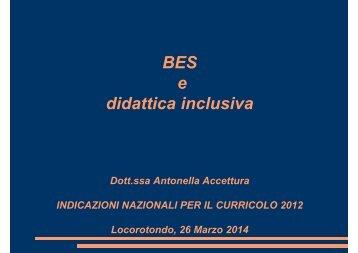 BES e didattica inclusiva