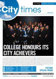 City Times (Winter 2011/12) - City College