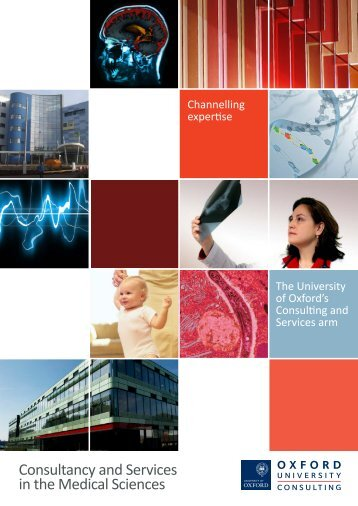 Consultancy and Services in the Medical Sciences - Isis Innovation