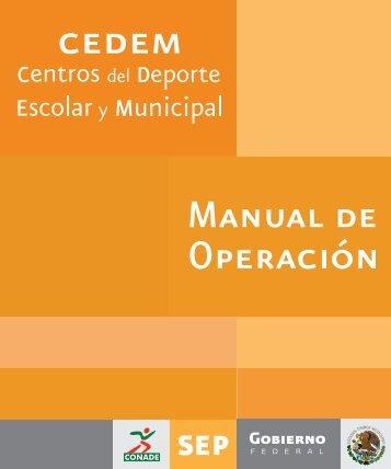 Manual de Operación CEDEM