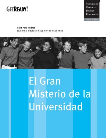Great College Mystery Parent Guide - Spanish - Minnesota Office of ...