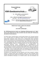 19.03.08 - VSR-Gewässerschutz