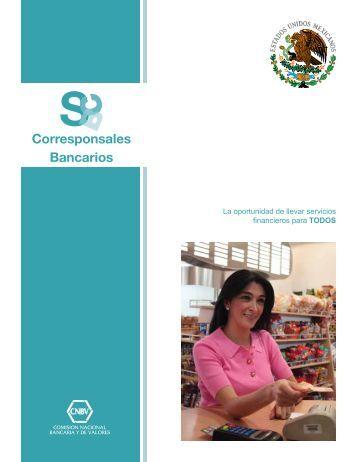 Corresponsales Bancarios - CNBV
