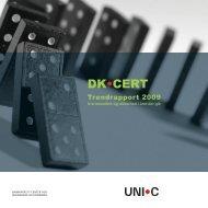 Trendrapport 2009 - DK-Cert