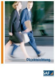 Objektsichtung. - Kompetenz-Center-Versandhandel