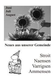 Stroit Naensen Varrigsen Ammensen - Pfarrverband Naensen