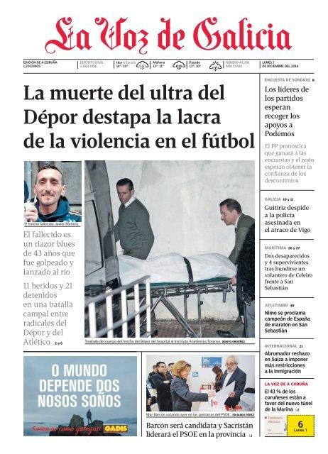 La Voz De Galicia 01 12 14