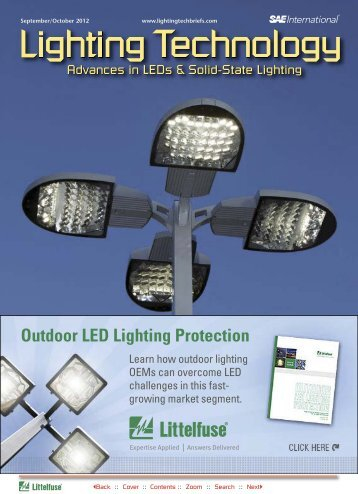 Outdoor LED Lighting Protection - NASA Tech Briefs