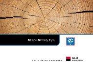 18 éco Mobility Tips - ALD Automotive