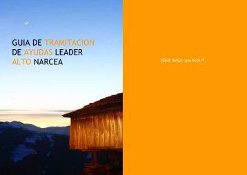 Guía tramitación Leader 12 4444444 - Asociación Centro de ...