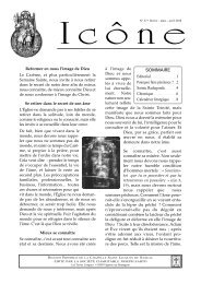 Icône n° 37 de février-mars-avril 2010 - La Porte Latine