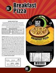 Breakfast Pizza Breakfast Pizza - Day 'N Night Bites