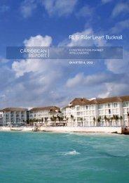 RLB Caribbean Report Fourth Quarter 2012 - Rider Levett Bucknall