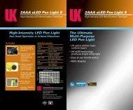2AAA eLED Pen Light S - Underwater Kinetics