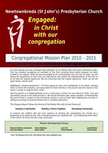 Congregational Mission Plan - Newtownbreda Presbyterian Church