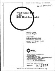 Wind- Tunnel Of The S814 Thick-Root - NREL