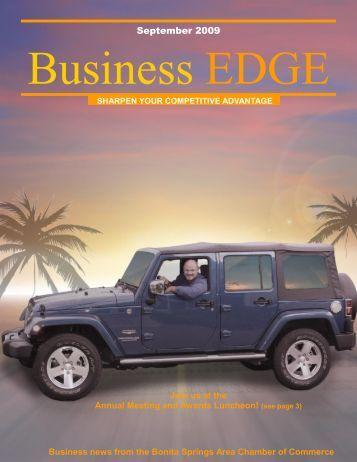 September 2009 Business EDGE - Bonita Springs Chamber of ...