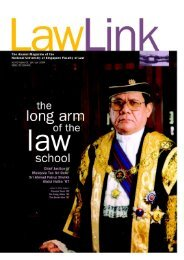 Vol 3 No. 1 January - June 2004 - Faculty of Law