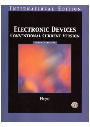 Floyd - Electronic Devices - Conventional Current 7e - FET