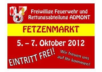 Fetzenmarkt 2012