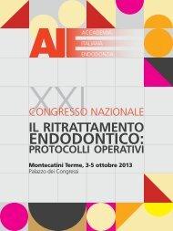 Programma - Accademia Italiana Endodonzia