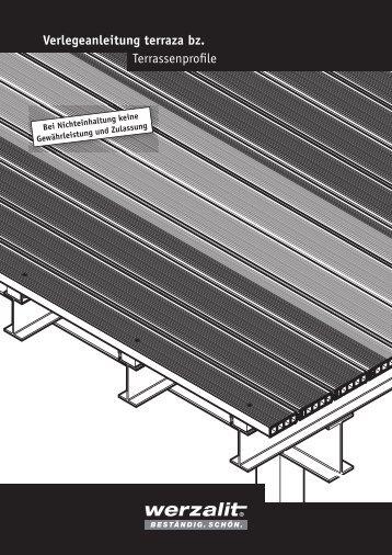 terraza bz Profil - Werzalit AG + Co. KG