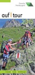 AufTour 2015 - Deutsche Wanderjugend Jahresprogramm (Auswahl)