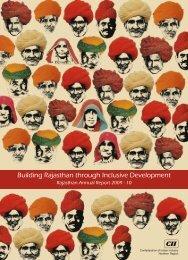 Rajasthan Annual Report 2009-10 - CII