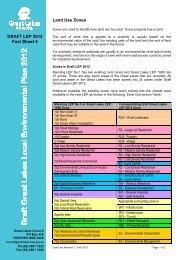 Draft LEP Fact Sheet 5 Land Use Zones - Great Lakes Council