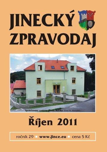 JZ říjen 2011 - Jince