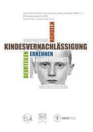 Kindesvernachlässigung Erkennen - Beurteilen - Handeln