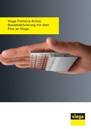 Prospekt Fonterra Active - Viega