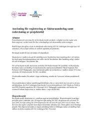 Anvisningar fakturering - SLL - Anslag till forskning, utveckling och ...
