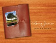 Giving Journey - Westwood Community Church